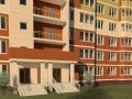 Многоэтажный дом в поселке Львовский