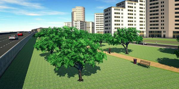 проект благоустройство и озеленение территории