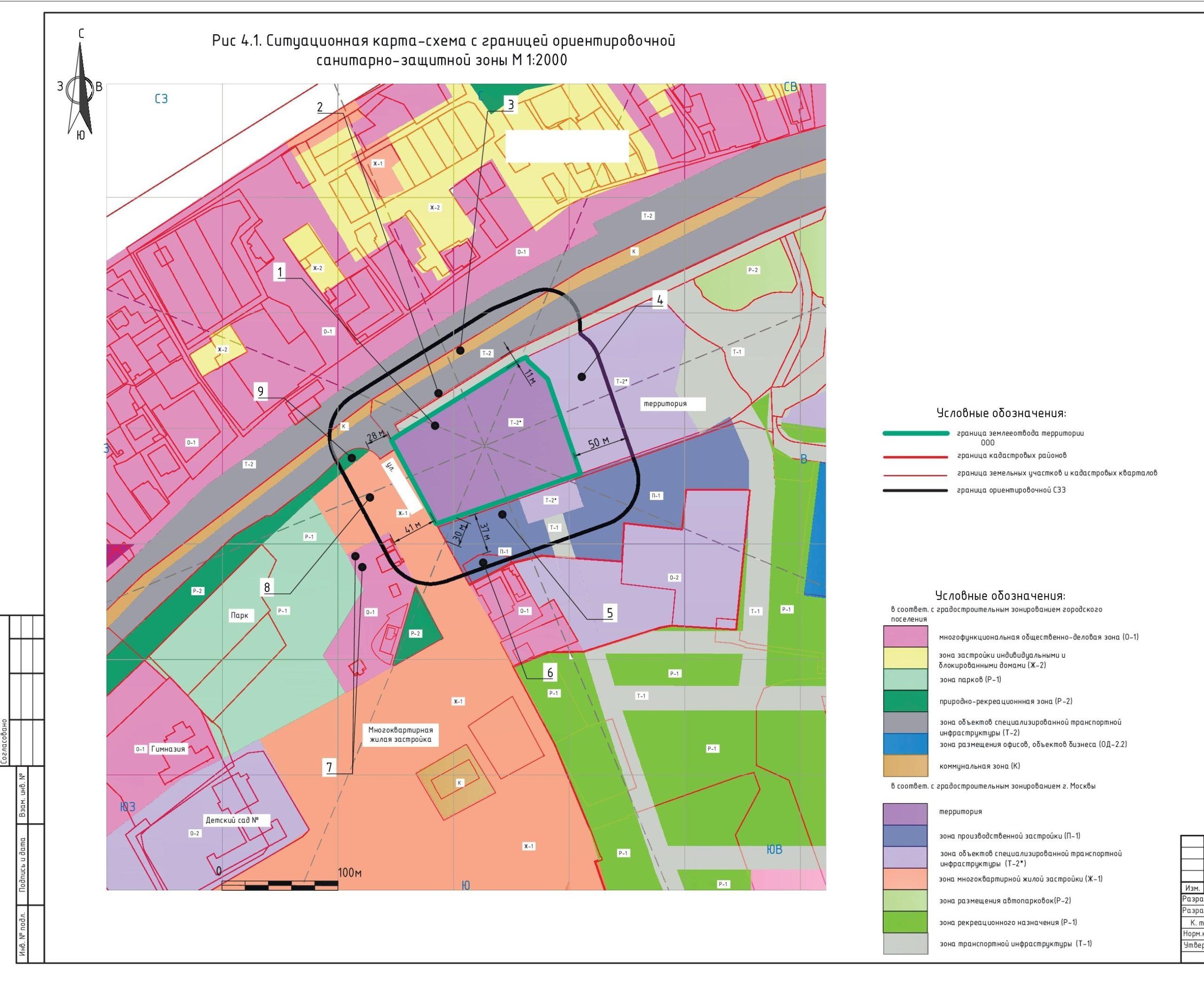 проект санитарно-защитной зоны